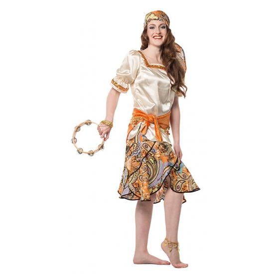Verkleedkleding Zigeuner kostuum voor dames