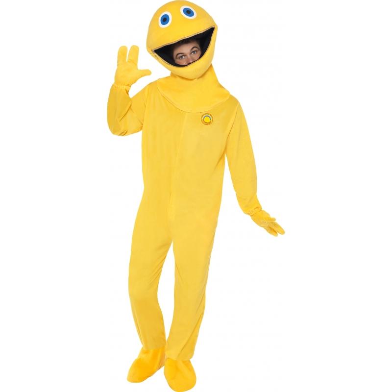 Verkleedkleding Zippy Rainbow kostuum volwassenen