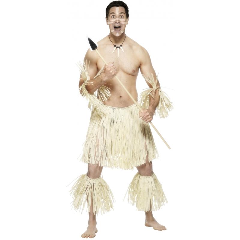 Verkleedkleding Zulu krijgers kostuum