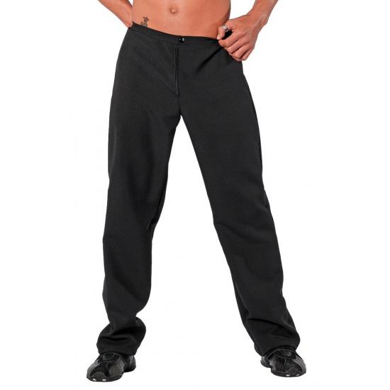 Verkleedkleding Zwarte feestbroek voor heren