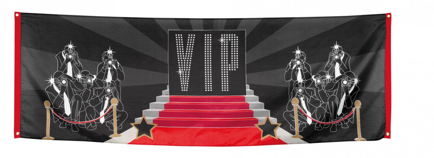 VIP decoratie banner 220 cm