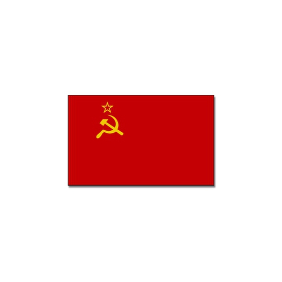 Vlag Sovjet Unie 90 x 150 cm feestartikelen