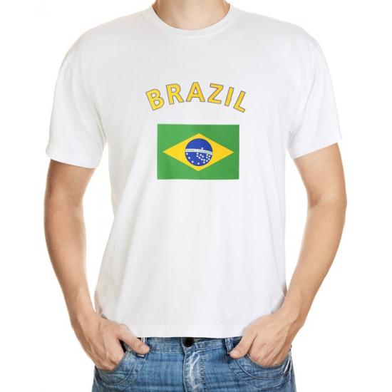 Vlaggen shirtje Brazilie