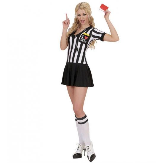 Voetbal scheidsrechter jurkje