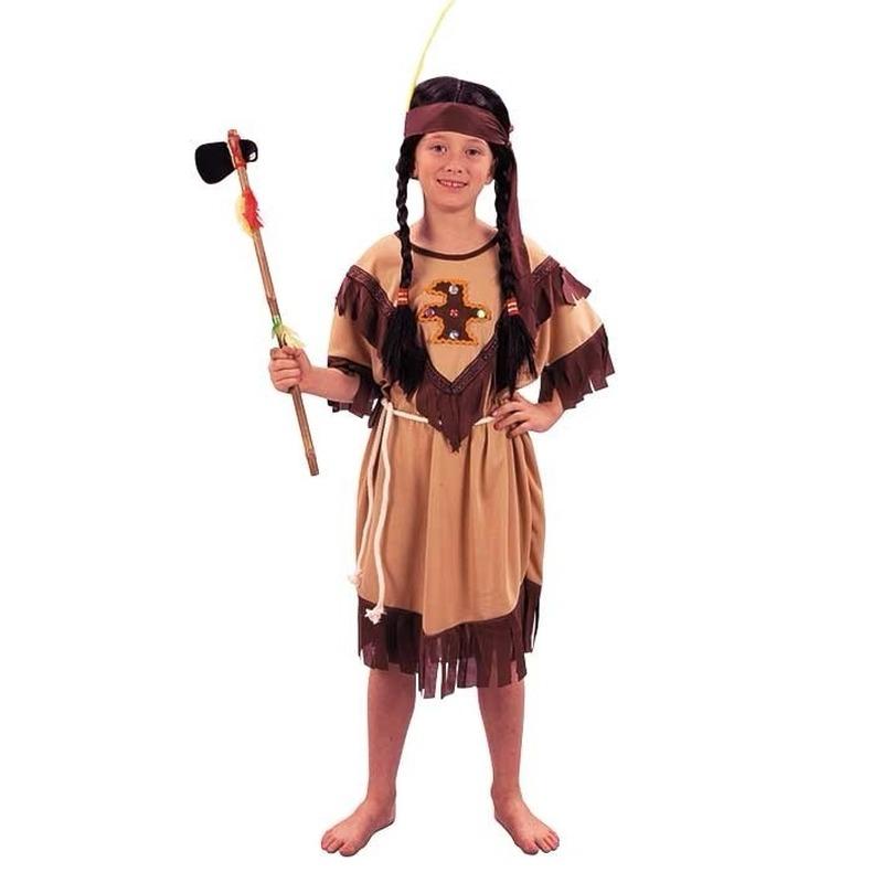 Voordelig indianen kinder jurkje