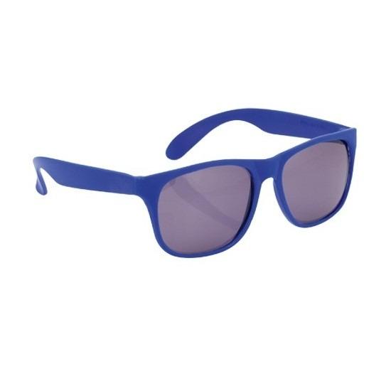 Voordelige blauwe zonnebril
