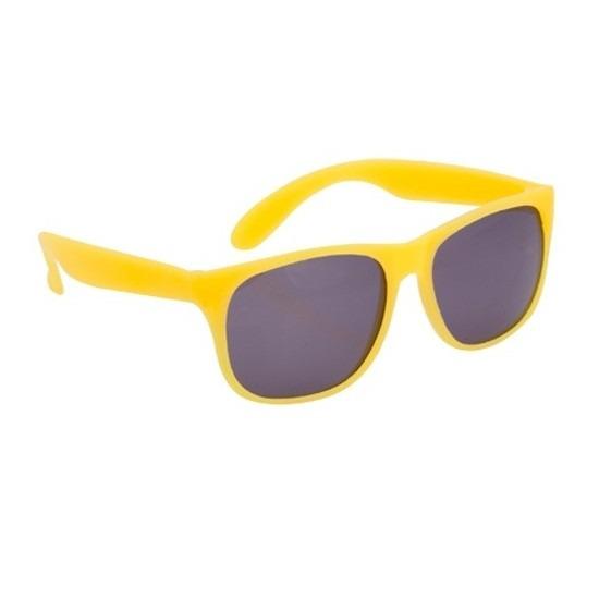 Voordelige gele zonnebril