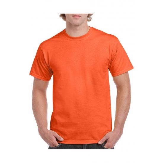 Voordelige oranje t-shirts