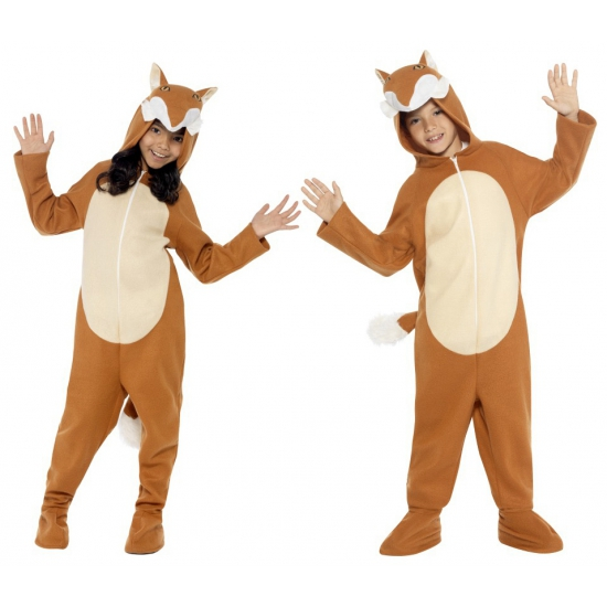 Winter huispakken vos voor kids