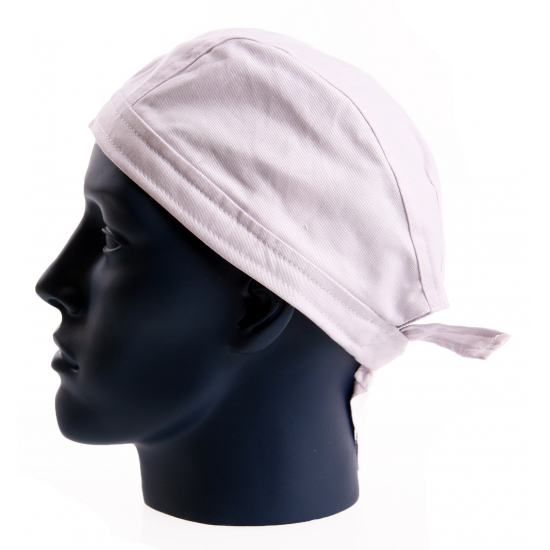 Wit gekleurde bandana