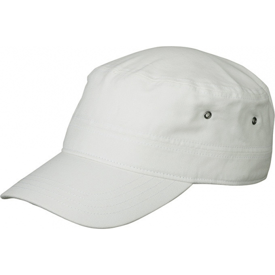 Witte Militairy caps