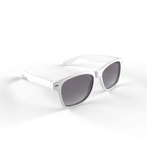 Witte zonnebril