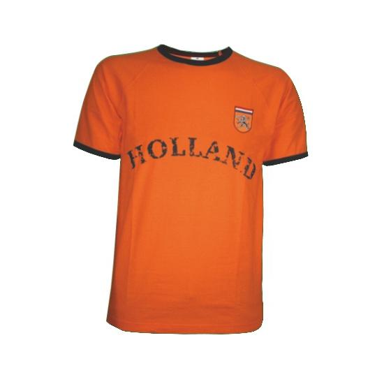 WK oranje t-shirt met Holland tekst