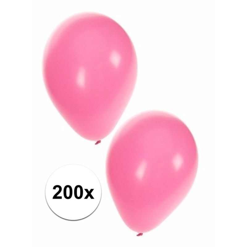Zacht roze ballonnen 200x