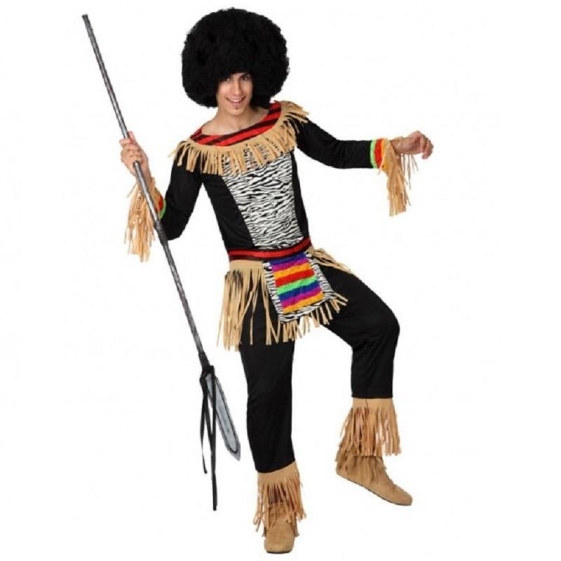 Zebra print kostuum voor heren