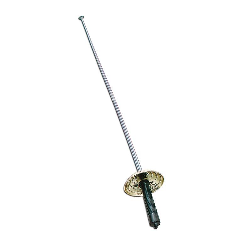 Zilver degen zwaard 45 cm