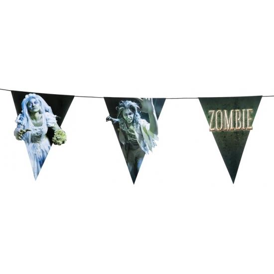 Zombie vlaggenlijn - slinger 4 meter