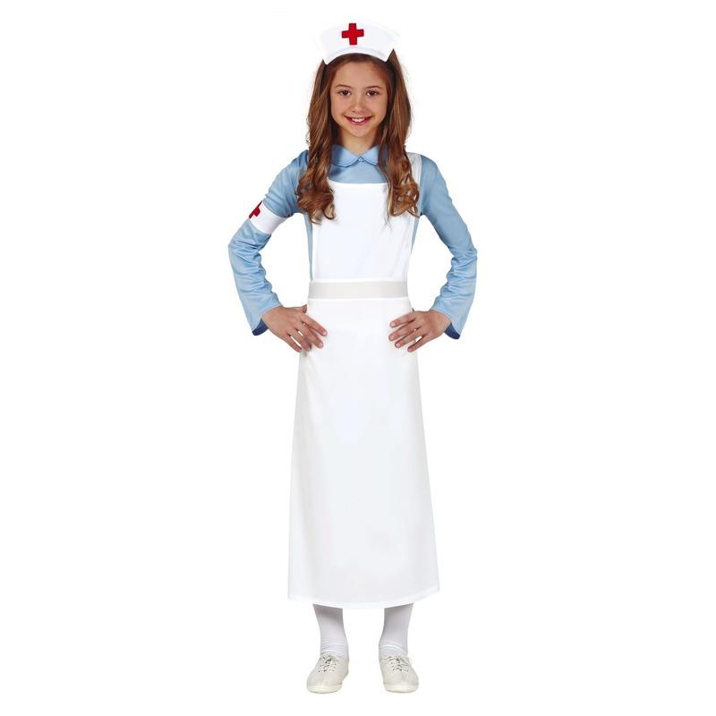 Zuster/verpleegster verkleed jurk/jurkje voor meisjes