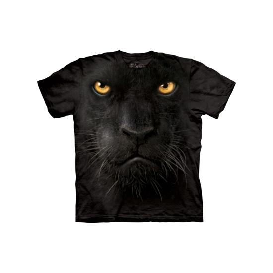 Zwart luipaard T-shirt voor volwassenen