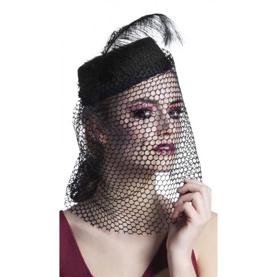 Zwarte hoed weduwe