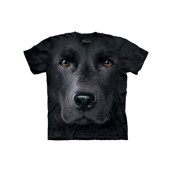 Zwarte Labrador T-shirt voor volwassenen
