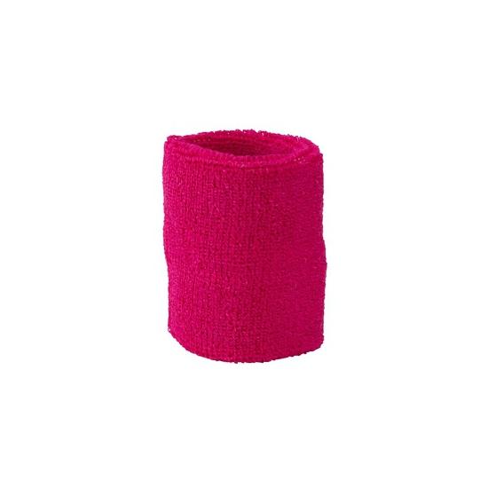 Zweet polsbandjes gekleurd fuchsia